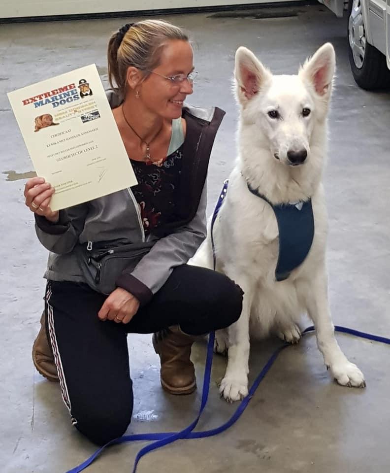 Yes mika heeft zijn diploma