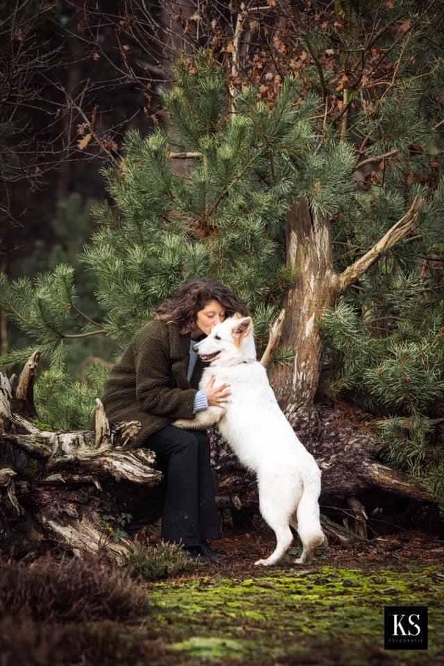 Zwitserse witte herder pup Rio